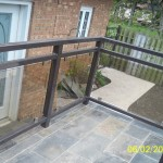 black-aluminum-glass-deck-railing